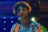 "Alex Zane as ""that guy from off the telly"" in Ibiza Undead"